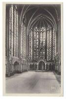 Paris France Notre Dame Cathedral Intérieur de la Sainte Chapelle Yvon Postcard