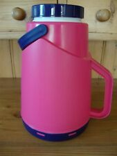 SELAP Hiking/Camping/Picnic Thermal Flask/Water/Drinking Bottle/Carrier - Pink
