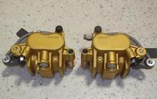 Honda Transalp, Africa Twin, CBR 600, Nissin gold NOS PAIR front brake calipers