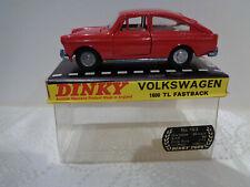 "ANCIENNE DINKY TOYS GB N°163""VW 1600TL FASTBACK"" 1966 1/43 en boite d'origine"