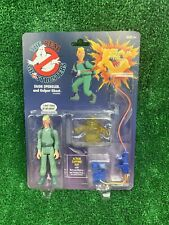 The Real Ghostbusters Retro Vintage Egon Spengler & Gulper Ghost Figure Set New