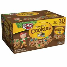 Keebler Bite Size Cookies With Mini M&M's 30 Bags