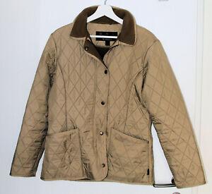 Barbour * Ladies Polarquilt Jacket * Damen Steppjacke Größe 38 sandstone beige