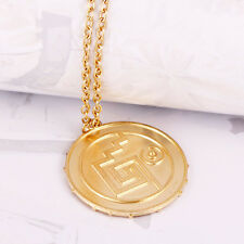 New Pirates Skull Coin Pendant Link Chain Long Necklace Hot Movie Series Jewelry