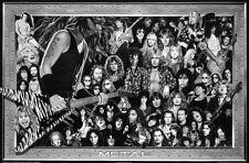 Metal (Heavy Metal Collage) Music Poster Print Poster Print 36x24 KISS