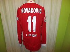"1.FC Köln Reebok Langarm Matchworn Trikot 2008/09 ""REWE"" + Nr.11 Novakovic Gr.XL"
