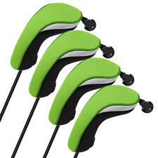 Set of 4pcs Hybrid Rescue Headcovers Cover For Titleist Adams Cobra Adjustable