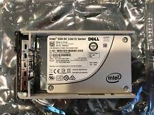 """DELL INTEL DC S3610 400GB 6GBPS 2.5"""" SATA SSD 65WJJ SSDSC2BX400G4R R620 R630"""
