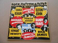 RICK JAMES, CHAKA KAHN EL DEBARGE ROCK, RHYTHM & BLUES ~ LP WB NM $2.99