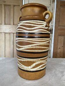 Vintage Scheurich-Keramik 220-44 Large Vase from West Germany