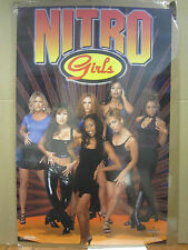 vintage WCW Nitro Girls Hot girl man cave car Garage wrestling 1999 Poster  4764