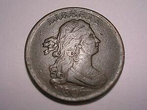 1806 Half Cent  (VF, 45 Degree Die Rotation, & Attractive)