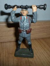 rare prewar Lineol german Luftwaffe soldier rangefinder cannon crew WWII