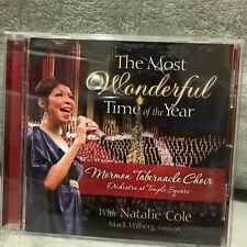 The  Most Wonderful Time of the Year by Mormon Tabernacle Choir/Natalie Cole (CD