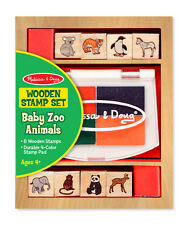 Melissa & Doug Baby Zoo Animal Stamp Set #1638 Brand New