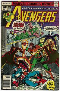 AVENGERS#164 VF/NM 1977 MARVEL BRONZE AGE COMICS
