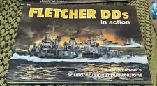 FLETCHER DD'S IN ACTION SQUADRON/SIGNAL IN ACTION WARSHIP #8 FREE USA SHIPPING