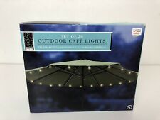 Bed Bath Beyond Patio Outdoor Indoor Patio String Cafe Round 20 Bulb Lights
