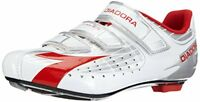 Diadora Trivex Composite Road Shoes UK 6 EU 40 Silver, White & Red