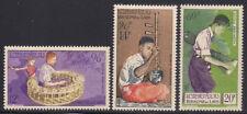 Laos  1957  Sc # C24-26  MNH  (1-509-1)