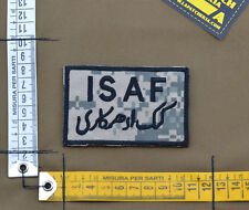 "Ricamata / Embroidered Patch ""ISAF"" UCP / ACU with VELCRO® brand hook"