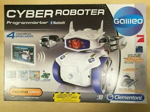 CYBER ROBOTER Clementoni Bausatz programmierbar Bluetooth Galileo neu in OVP