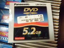 3 each/Lot - Panasonic LM-DA52U 5.2GB Double Sided DVD-Ram Disc
