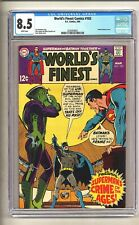 World's Finest 183 (CGC 8.5) White pages; UN cover by Neal Adams; 1969 (c#25415)