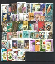 Pitcairn Islands 50 All Different Stamps in Glassine Bag Mostly Mint