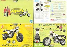 Honda Ape 50 Japan Prospekt Brochure  8 Seiten