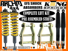 "HOLDEN RG COLORADO EFS SHOCKS ARCHM4X4 & KING SPRING 2"" 50mm SUSPENSION LIFT KIT"
