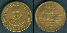 HARRY S. TRUMAN 33rd President Of The United States 1945-1953 MEDAL