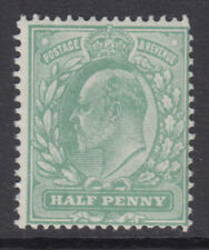 More details for sg 279a 1/2d pale bluish green m4 (4) post office fresh unmounted mint condition
