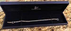Swarovski Emily Tennis Bracelet 7 Inch Length