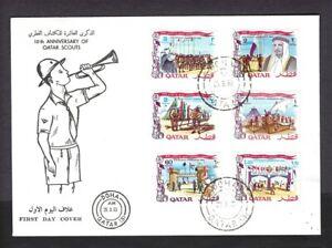 1969 Boy Scouts Qatar Jamboree FDC