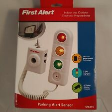 First Alert Home Garage Parking Alert Sensor Traffic Light Signals Distance NIB