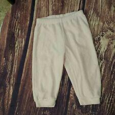 Girandola velour pink baby leggings size 12m