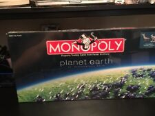 NEW Monopoly Planet Earth Edition Factory Sealed 2008 Pewter Tokens Free Ship