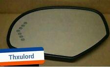 2007-2013 CADILLAC ESCALADE  DRIVER SIDE Turn Signal MIRROR OEM HEATED.