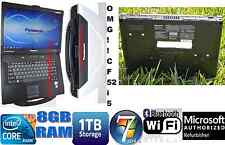 Panasonic Toughbook CF-52. Intel Core i5 - M520 @ 2.40GHz. 8GB. 1TB. DVDRW.