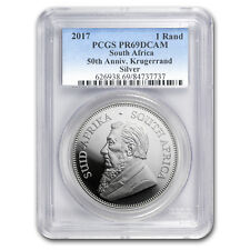 2017 South Africa 1 oz Silver Krugerrand PR-69 PCGS - SKU#153016
