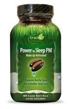 Power to Sleep PM Irwin Naturals 60 Softgel