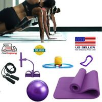 5.Yoga Fitness Kit Yoga Ring Mat Ball Skipping Rope Exercise Fast Shipping