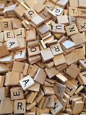 Scrabble Wood Tiles Letters 10/$1.00 You pick your letters!