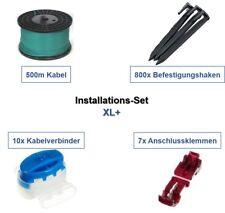 Installation Set XL+ Robomow MC* MS* RL* RM* Kabel Haken Verbinder Paket Kit