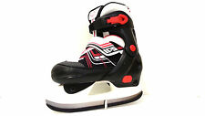 Oxelo Play 5  Ice Skate Schwarz/Rot verstellbar 32-35 Kinder Schlittschuh- Sale