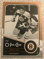 2011-12 O-Pee-Chee OPC Gold Marquee Legends Bobby Orr #L3 - HOF