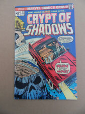 Crypt Of Shadows 21 . Final Issue . Marvel 1975 . FN +