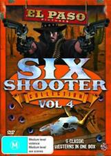 EL PASO Six Shooter Collection: The Big Trees & Kansas Pacific Vol 4 6DVD NEW