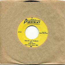 """Baby Face Leroy Trio """"Rollin' & Tumblin'"""" - w/ Muddy Waters, MINT Parkway 45rpm"""